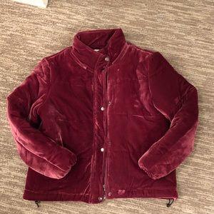 Glamorous velvet padded jacket